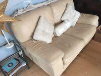 Ivory leather sofa-cheap cheap cheap