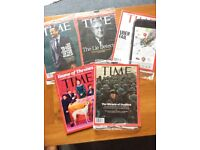 Latest Edition TIME Magazine: Last 5 mags incl current Edition Dunkirk