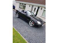 2001 230 SLK Mercedes covertible hard top