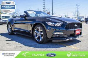 2016 Ford Mustang V6|RWD|3.7L|V-6|BACKUP CAM|FORD CERTIFIED