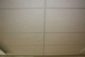 2 ft. x 4 ft. White Lay-in Suspended Grid Ceiling Panels
