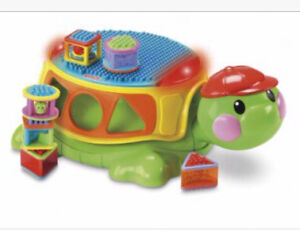 Fisher price spill / block turtle