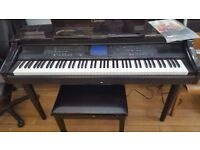 Yamaha Clavinova CVP - 98 Digital piano with stool, excellent condition