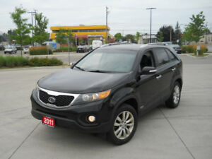 2011 Kia Sorento EX, AWD, Leather, Auto, 3/Y warranty available