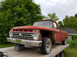 1966 Ford f100 parts