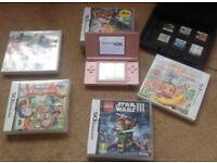 Nintendo ds lite console games bundle