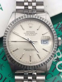 Vintage Rolex Oyster Perpetual Datejust 16030 from 1986, Box and Papers