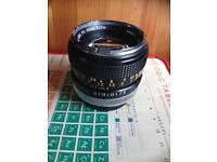 Canon Lens FD 50mm 1:1.4 F1.4