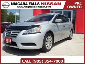 2013 Nissan Sentra S   BLUETOOTH   PWR GROUP