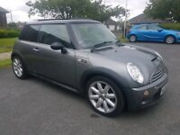 2004 54 MINI COOPER S, SUPERCHARGED, 168 BHP, TWIN PANORAMIC ROOF, HPI CLEAR, 91K MILES, FULL MOT