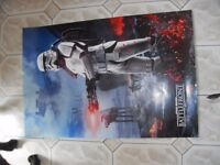 DOUBLE SIDED STAR WARS POSTER