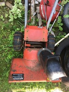 Snowblower for scrap