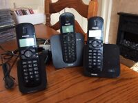Philips. Cordless Telephones ( 3)