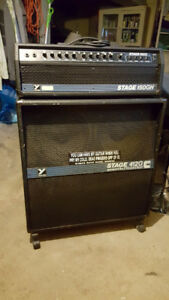Yorkville head and 4x12 cabinet