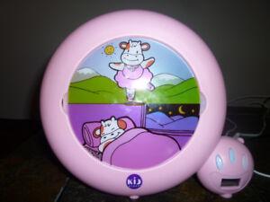 Kids sleep training clock