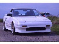 Toyota MR2 AW11 White