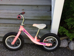 Child's Scoot Bike-pedalless, push bike
