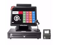 POS, ePOS system, all in one touch screen brand new