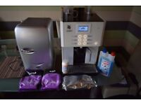 Coffee machine WMF Prestolino with fridge