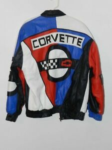 CORVETTE LEATHER JACKET  NEW WITHOUT TAGS