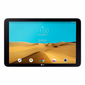 LG Gpad 10 inch Android tablet with case, charger and manual