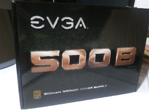 Evga 500B Power Supply