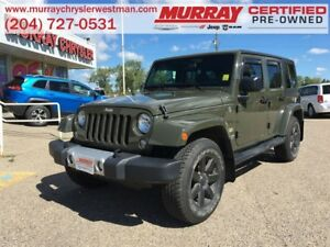 2015 Jeep WRANGLER UNLIMITED Sahara 4WD *Navigation* *Heated Lea
