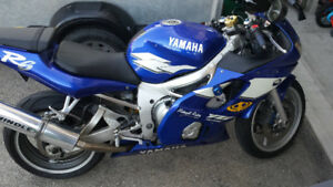 Yamaha R6, 1999, Great Sport Bike