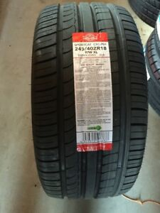 Four new 245/40/18 all season, $540a set, tax in