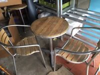 Bistro Tables and Chairs x2 sets