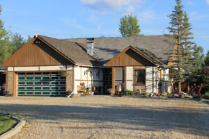 Unique European-style acreage for sale near Lesser Slave Lake