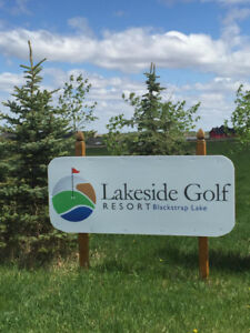 Lakeside 1/2 Acre Golf Course Lots Fully Serviced/City Water
