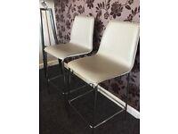 4 x John Lewis Xavier Bar Chairs