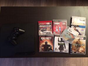 PS3, manettes et jeux