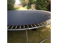 12Foot Trampoline and accessories