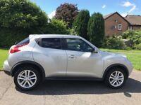 13reg 2013, Nissan Juke acenta primuem, diesel, sat nav, rear camera, 1 year mot, full service,