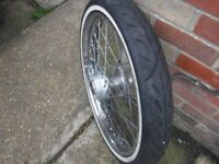 harley davidson -21 front wheel