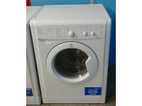 O576 white indesit 6kg&5kg 1200spin washer dryer comes with warranty can be delivered or collected