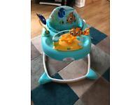 Nemo and dory baby walker