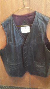 EUC Two leather vests