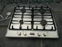 Stove stainless steel gas hob