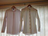White shirts x 2 Asos