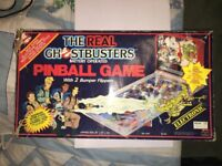1980's Vintage The Real Ghostbusters Electronic Pinball Machine