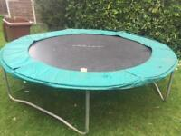 Power 12ft trampoline base without enclosure.