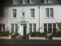 Marine Hotel ,Crail Accomodation on Sea front location