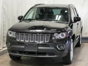2014 Jeep Compass Limited 4WD w/ Navigation, Leather, Sunroof, A