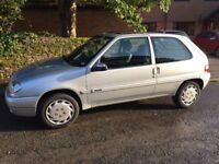 Citroen Saxo | Silver | 72K Miles | 2002 | 2 Owners from new | £550