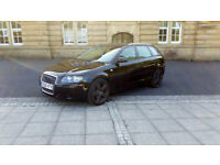 2006 (56) Audi A3 1.9 Tdi 5 door Sportback Black 5 Speed (105 bhp)