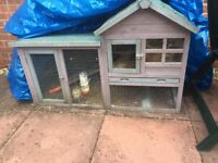 Rabbit complete with hutch