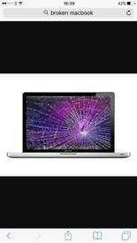 Wanted MacBook Pro & Air Faulty